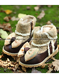 Girl's Boots Others PU Casual Brown / Pink