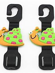милые крючки мультфильм автомобиля крючки автокресло мульти - цель сиденья автомобиля крюк автомобильных поставок