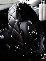 Steering Wheel Case Crystal Crown Diamond Car With Steering Wheel