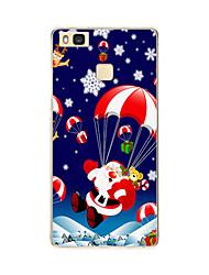 для рисунка задней стороны обложки случая рождества мягкая TPU p9 Huawei Huawei / Huawei p9 облегченная / P8 Компания Huawei / Huawei P8