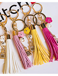 Pearl Perfume Bottle Tassel Classic 5 Word Perfume Bottle Car Key Tassel Hanging Bag