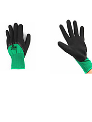 desgaste antiderrapante luvas de nylon resistente à 3 pares embalados para venda