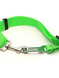 Green Dog Puppy Pet Safety Seat Belt Car Vehicle Harness Seatbelt Adjustable