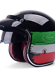 YEMA 629 Motorcycle Helmet Harley Half Helmet All Season Motorcycle Racing Car Helmets