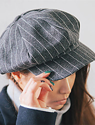 Unisex Boina Francesa Vintage / Casual-Todas las Temporadas-Tweed