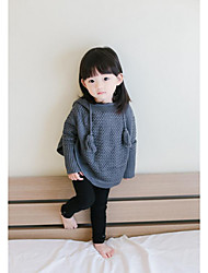 Girl's Casual/Daily Solid Sweater & CardiganCotton Fall Red / Gray