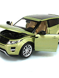 Действие рис / игрушечные транспортные средства Модели и конструкторы Автомобиль Металл Зеленый / Серебристый Для мальчика Выше 3