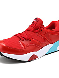 Men's Athletic Shoes Spring / Summer / Fall / Winter Comfort Tulle Athletic / Casual Black / Red / Gray Basketball / Sneaker