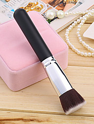 1pcs Foundation Brush Synthetic Hair Professional Eco-friendly Wood Face Others Makeup Brush