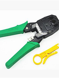 Network cable pliers Crimping pliers Stripping knife Three multi-functional network tool set