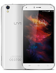 "UMI Diamond 5.0 "" Android 6.0 4G Smartphone (Dual - SIM Octa Core 8 MP 3GB + 16 GB Schwarz Gold Weiß)"