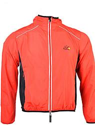 Sport Fahrradtrikot Unisex Langärmelige Fahhrad Wasserdicht / Windundurchlässig Regenmantel/Regenponcho Polyester Klassisch Sommer