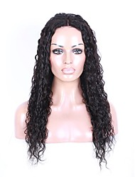 Loose Wave Virgin Brazilian Human Hair Full Lace Wigs Unprocessed Lace Front Wig for Black Women with Baby Hair