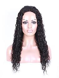 lose Welle der reinen brasilianischen Menschenhaar volle Spitzeperücken nicht verarbeitete Spitze vordere Perücke für schwarze Frauen mit