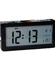 Silence Snooze Electronic Alarm Clock