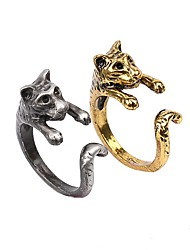 The New European And American Wind Restoring Ancient Ways Is The Tiger Animal Woman Ring