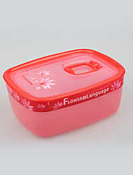 BPA Free Freezer Food Box Storage Container with Lid 1L