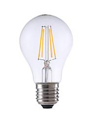 4W E26/E27 LED Glühlampen A60(A19) 4 COB 400 lm Warmes Weiß Dekorativ V 1 Stück