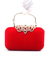 Women's  Velvet Formal Ring/ Casual / Event/Party / Wedding Evening Bag Clutch Handbags