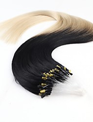 Neitsi 20'' Micro Ring Loop Links Hair Extensions 100% Remy Human Hair 25s/lot 1g/s T1-60#