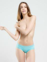 Femme Lace Couleur Pleine Sous-vêtements Ultra Sexy Slips