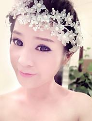Velos de Boda 1 capa Accesorios de cabello para velo Con aplicación de encaje Encaje