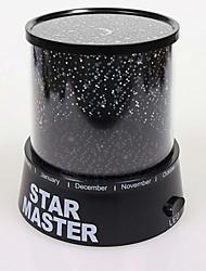 nova lâmpada LED projector céu estrelado crianças luz romântica quente mestre estrela presente