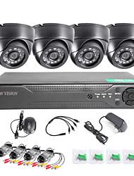 twvision 8ch enregistreur de surveillance 1000tvl caméras dôme système cctv dvr vidéo hdmi 960H cctv