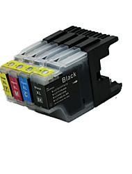 cartucho de impresora (4 color de la venta liado 25ml 15ml negro rojo amarillo azul 15ml 15ml)