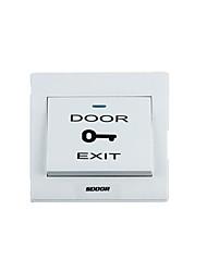 (Note les ventes groupées de cinq single 85mm taille * 85mm * 8mm) bouton interrupteur de la porte d'accès