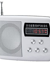 Radio with U Disk And Display Card Box Car Audio