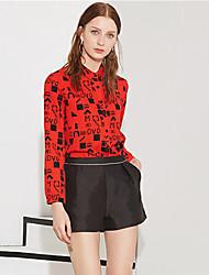 Damen Hose - Einfach Kurze Hose Baumwolle / Polyester Mikro-elastisch