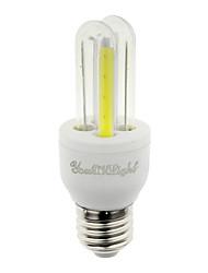 3W E26/E27 Ampoules Maïs LED T 4 COB 210 lm Blanc Froid Décorative V 1 pièce