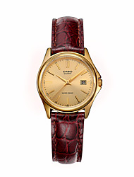 Women's Fashion Watch Calendar Quartz Leather Band Charm Brown