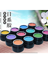 Nail Salon Use Pure Color UV Gel kitColor Paint Gel kitUV&LED Nail Paint Coat Color Gel Long-lasting Environmental friendly Painting Gel