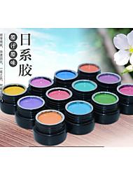 Esmalte de Uñas Gel UV 8g 1piece la pintura del gel / Esmalte Gel UV de Color Empapa de Larga Duración