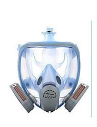 máscara de silicone com uma máscara facial completa de anti vírus de poeira