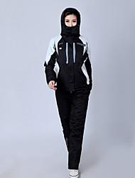 Спорт Одежда для катания на лыжах Брюки / Зимняя куртка / Куртки для лыж/сноуборда / Наборы одежды/Костюмы Жен. Зимняя одежда Чинлон