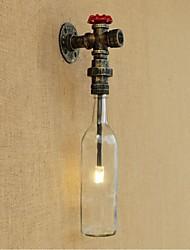 ac 220-240 recurso bronze 3 e27 rústico / lodge para levou parede, luz ambiente arandelas luz de parede