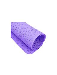 (Luz de cor nota roxo) buquê de arte floral papel criativo