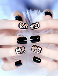 Geometrical Design Tide Riveting Nail Patch Nail To Be Bestowed Favor On Newly 1Set