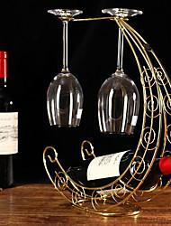 Винные стеллажи Чугун,31*10*36CM Вино Аксессуары