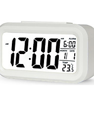 Creative Temperature And Humidity Large Screen Electronic Alarm Clock