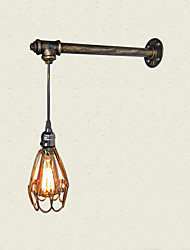 Max 60W Loft vintage Wall Lights With switch Industrial Edison Fashion Simplicity Wall Sconce Metal Base Cap