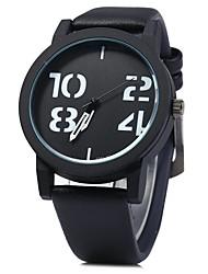 Masculino Relógio de Moda Quartz / Digital Colorido Couro Banda Vintage / Casual Preta / Marrom / Verde / Bronze marca