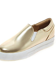 Women's Flats Spring / Summer / Fall Comfort Leatherette Wedding / Office &Casual Flat Heel Others Pink / Silver / Gold