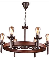 40W Lampe suspendue ,  Traditionnel/Classique Peintures Fonctionnalité for Style mini Bois/BambouSalle de séjour / Chambre à coucher /