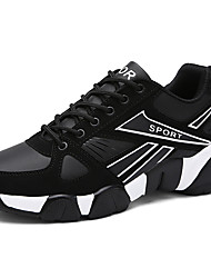 Unisex Athletic Shoes Spring / Fall / Winter Comfort Synthetic Athletic / Casual Black / Red Running Big Size