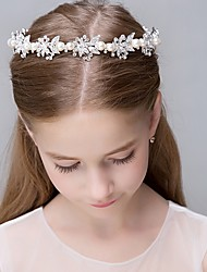 Women's Pearl Rhinestone Stainless Steel Titanium Headpiece-Wedding Special Occasion Casual Office & Career OutdoorTiaras Headbands
