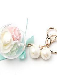 Korean Version Of The Eternal Flower Creative Gift Key Ring Key Ring